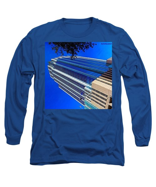#blue Blue Tuesday.  #bluesky And Blue Long Sleeve T-Shirt