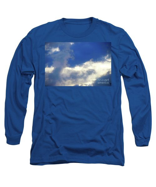 Blue Long Sleeve T-Shirt by Jesse Ciazza