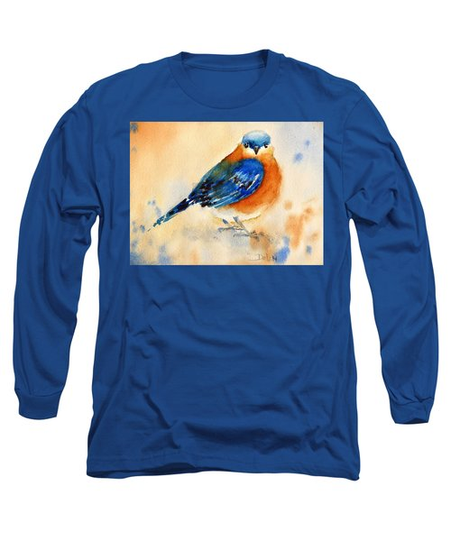 Bluebird #3 Long Sleeve T-Shirt