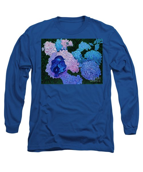 Bluebird Long Sleeve T-Shirt by Michael Frank