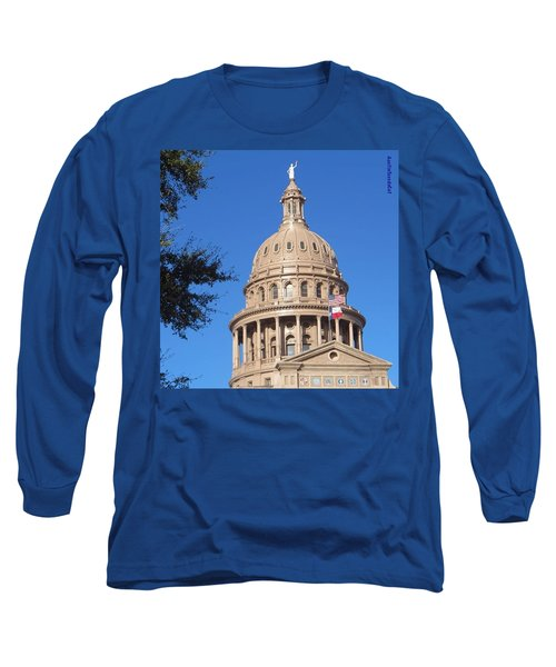 #bluesky And The Best #realestate In Long Sleeve T-Shirt