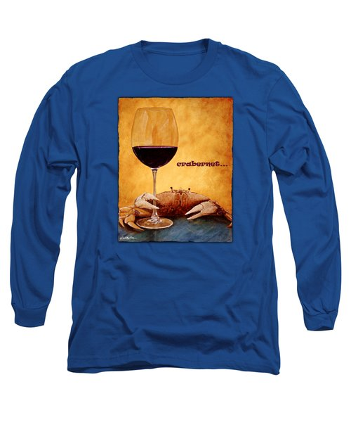 Crabernet... Long Sleeve T-Shirt by Will Bullas
