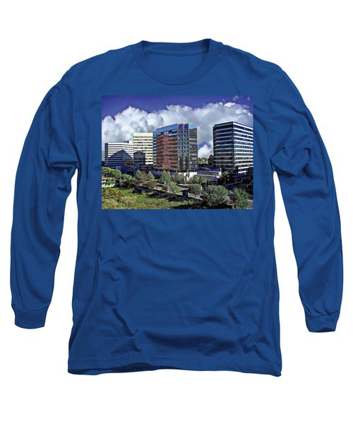 Downtown Cityscape Long Sleeve T-Shirt