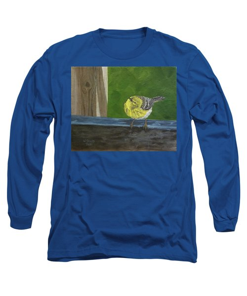 Hello Long Sleeve T-Shirt by Wendy Shoults
