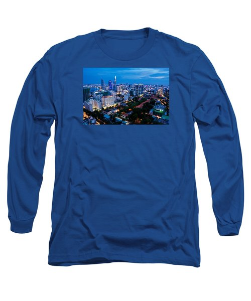Ho Chi Minh City Night Long Sleeve T-Shirt