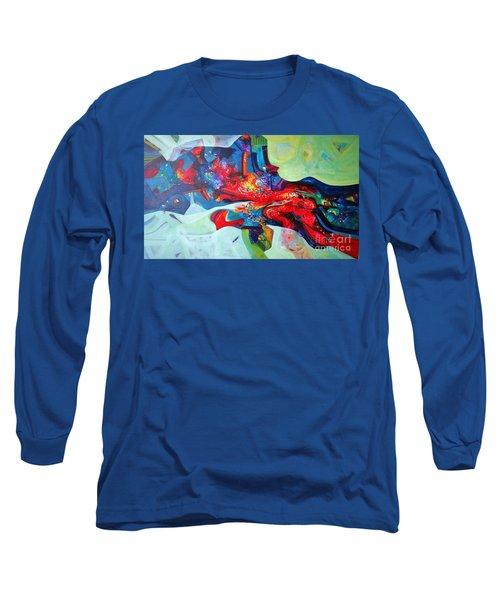 Inner Power Long Sleeve T-Shirt by Sanjay Punekar