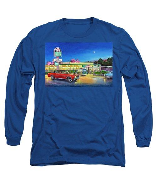 Muscle Car Cruise Night Long Sleeve T-Shirt