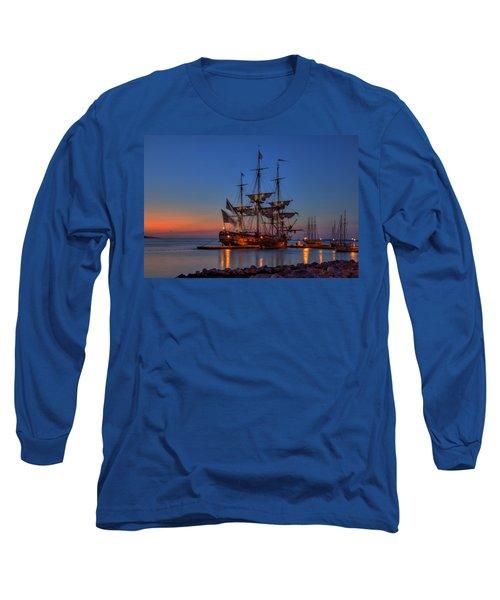 Lafayette's Hermione Voyage 2015 Long Sleeve T-Shirt