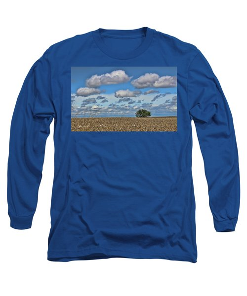 Lone Tree Long Sleeve T-Shirt by Sylvia Thornton