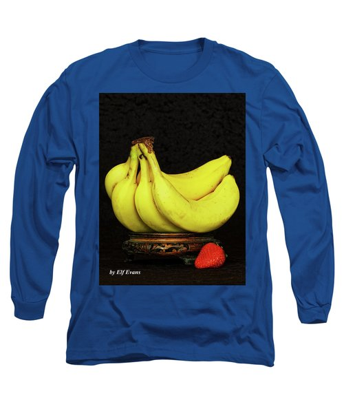 Long Sleeve T-Shirt featuring the photograph Mellow Yellows And Red by Elf Evans
