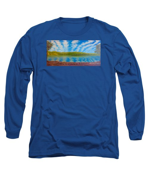 My Serenity Lies In A Place Between Heaven And Earth Long Sleeve T-Shirt