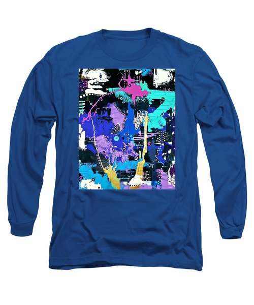 Of Moonbeams And Mad-hatters Long Sleeve T-Shirt