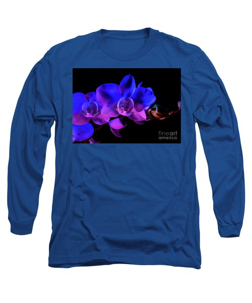 Orchid Long Sleeve T-Shirt by Brian Jones