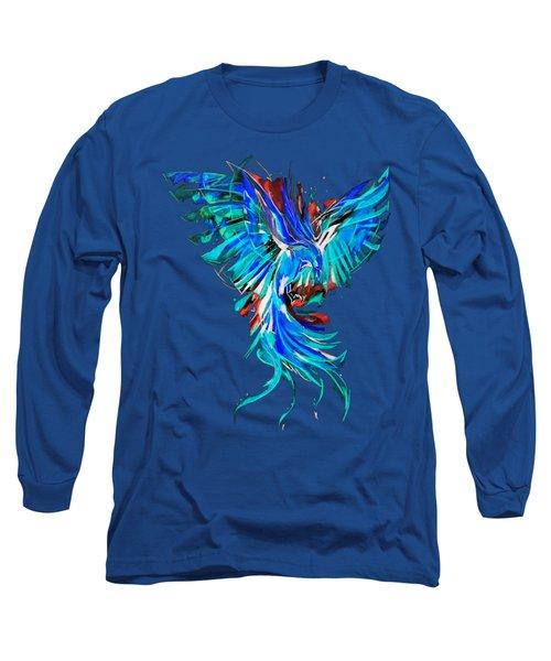 Phoenix Long Sleeve T-Shirt by Adriano Diana