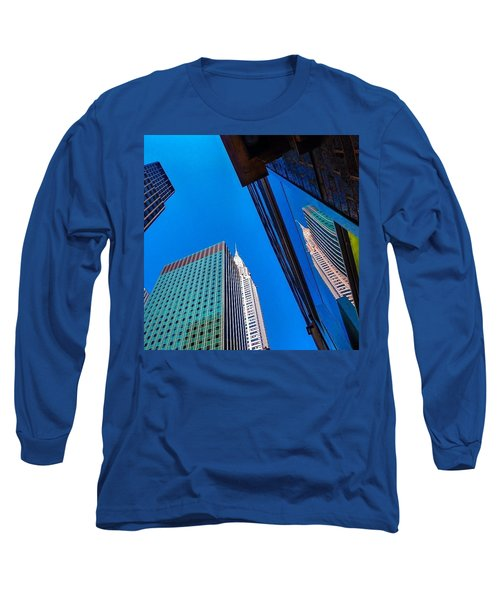 Photoshopping #tbt #nyc Summer Of 2013 Long Sleeve T-Shirt