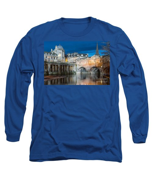 Pulteney Bridge, Bath Long Sleeve T-Shirt