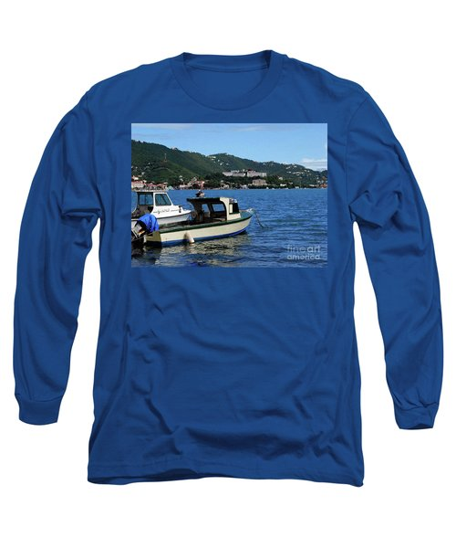 Long Sleeve T-Shirt featuring the photograph Ready To Go by Gary Wonning