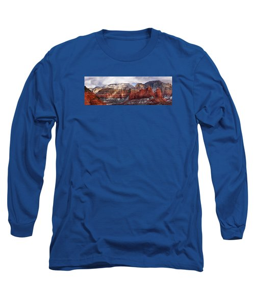 Red Rock Peaks Long Sleeve T-Shirt