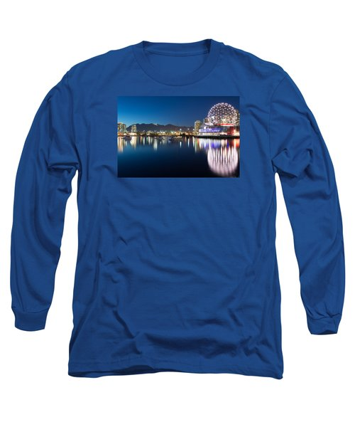 Science World Vancouver Long Sleeve T-Shirt by Sabine Edrissi
