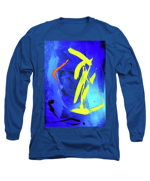 Long Sleeve T-Shirt featuring the photograph Space Dance by Elf Evans
