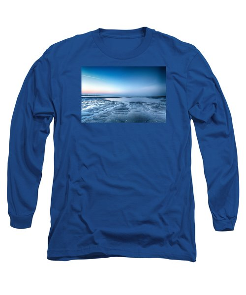 Blue Sunrise Long Sleeve T-Shirt by Alan Raasch