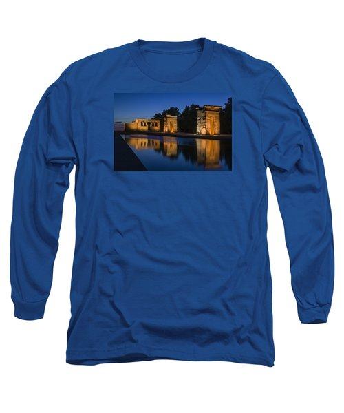 Templo De Debod Long Sleeve T-Shirt by Ross G Strachan