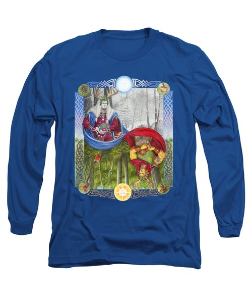 The Holly King And The Oak King Long Sleeve T-Shirt