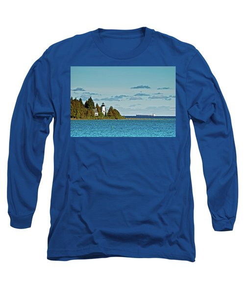 The Old Presque Isle Lighthouse Long Sleeve T-Shirt