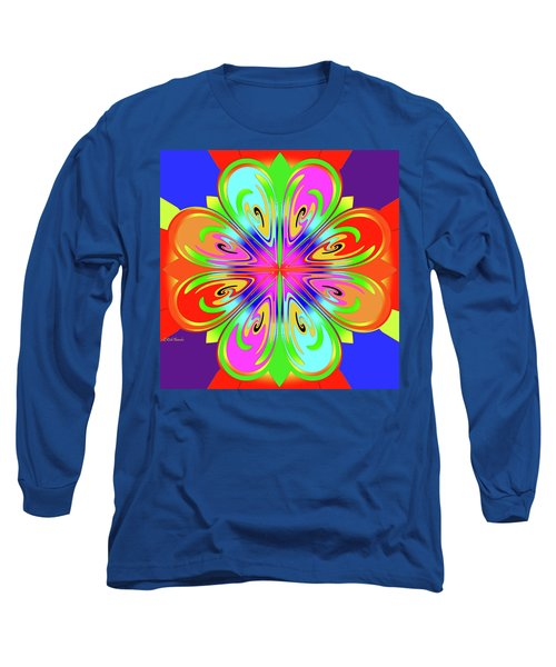Tribute To Peter Max Long Sleeve T-Shirt