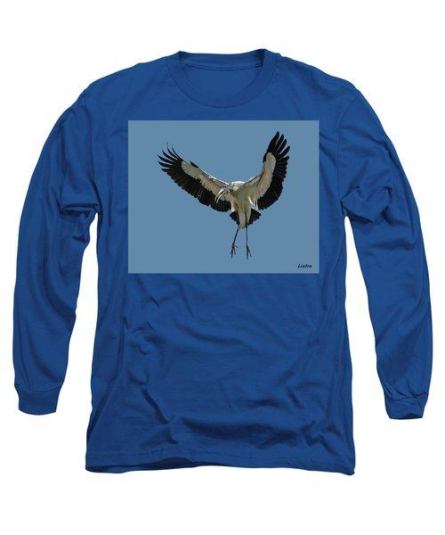 Wood Stork Long Sleeve T-Shirt
