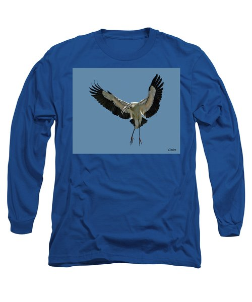 Wood Stork Long Sleeve T-Shirt