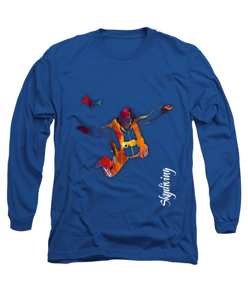 Skydiving Collection Long Sleeve T-Shirt by Marvin Blaine