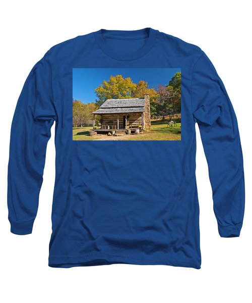 1890's Farm Cabin Long Sleeve T-Shirt