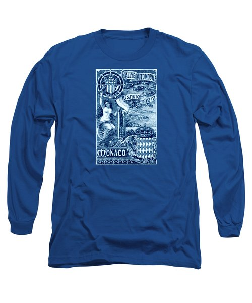 Long Sleeve T-Shirt featuring the painting 1912 Monaco Automobile Rally by Historic Image
