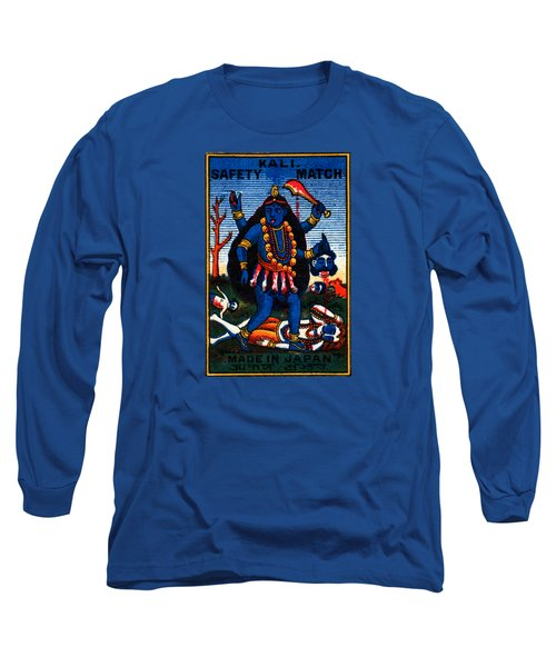 1920 Hindu Goddess Kali Long Sleeve T-Shirt