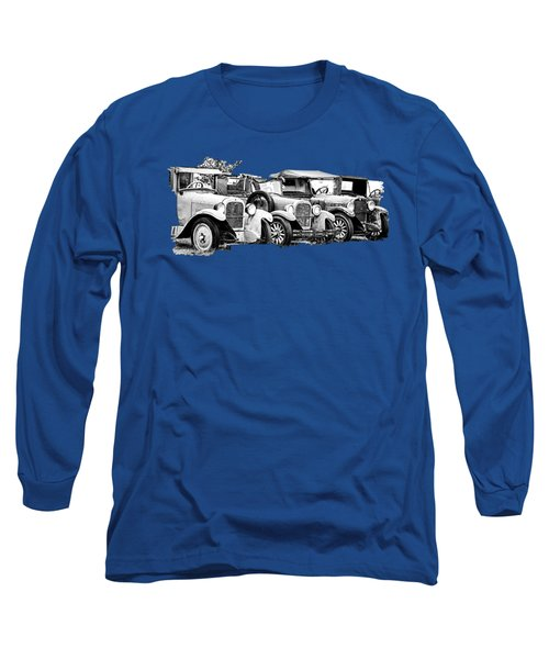 1920s Vintage Cars Long Sleeve T-Shirt