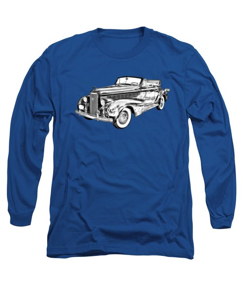1938 Cadillac Lasalle Illustration Long Sleeve T-Shirt