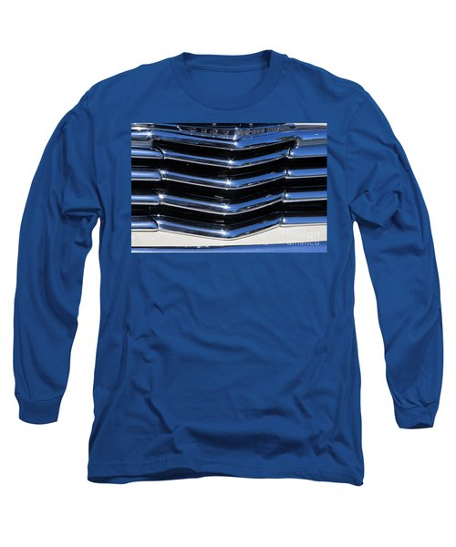 1947 Chevy Fleetline Aero Grill Long Sleeve T-Shirt
