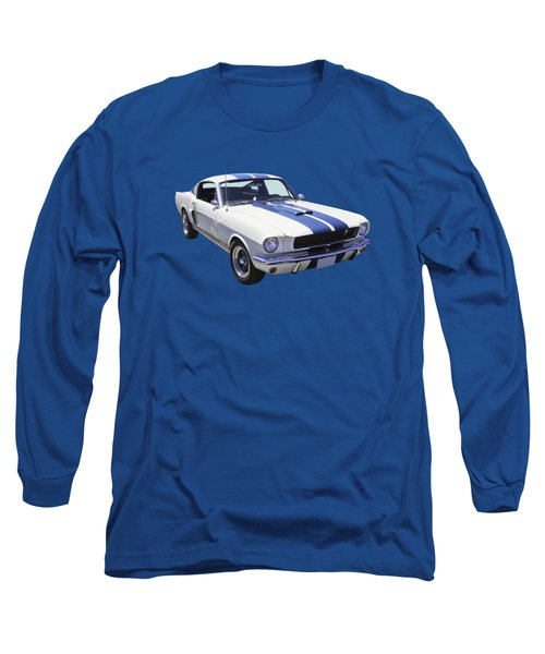 1965 Gt350 Mustang Muscle Car Long Sleeve T-Shirt