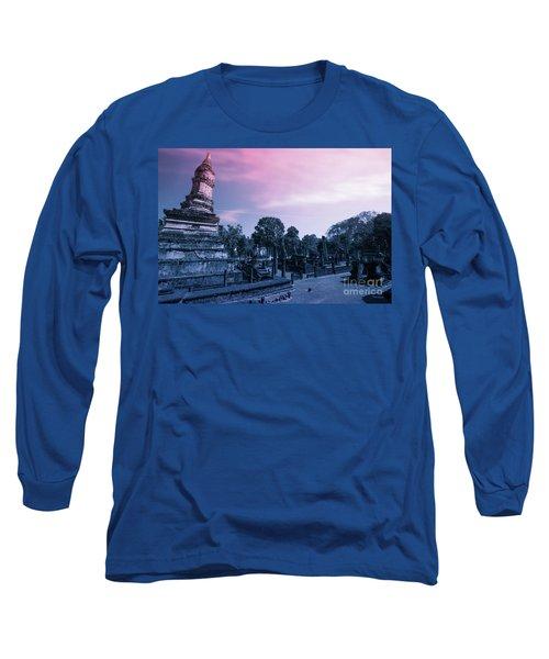 Artistic Of Chedi Long Sleeve T-Shirt
