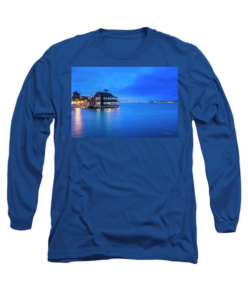 Long Sleeve T-Shirt featuring the photograph Dinner On The Bay by Dan McGeorge