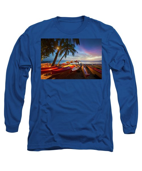 Evening Falls Long Sleeve T-Shirt by James Roemmling