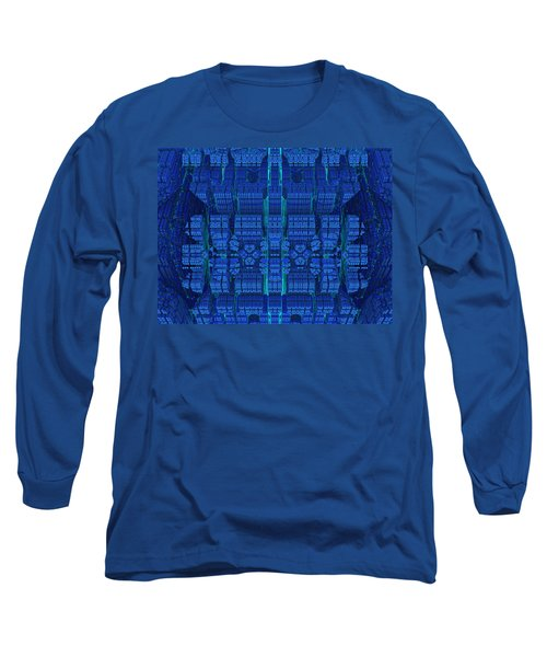 Settlement In Deep Space Long Sleeve T-Shirt