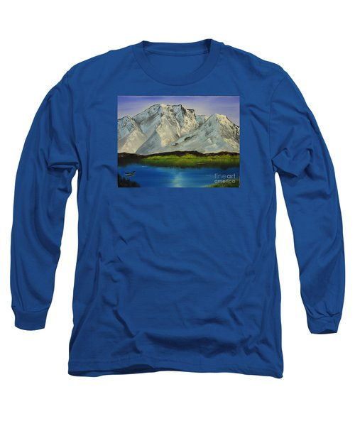 Tranquility Long Sleeve T-Shirt by Bev Conover