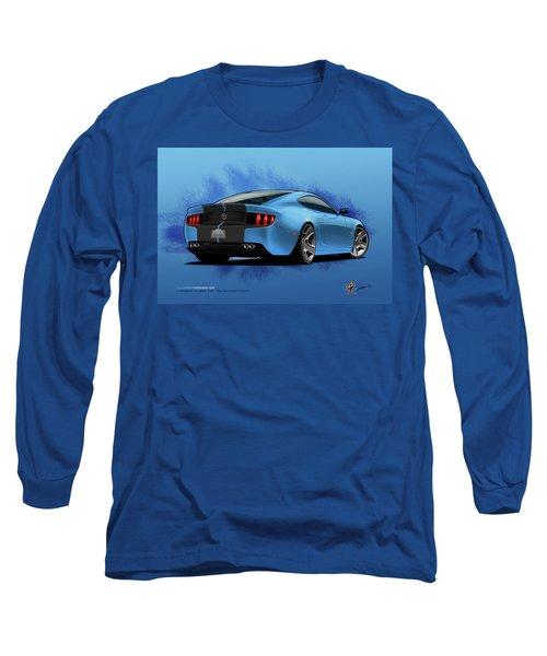 2014 Stang Rear Long Sleeve T-Shirt