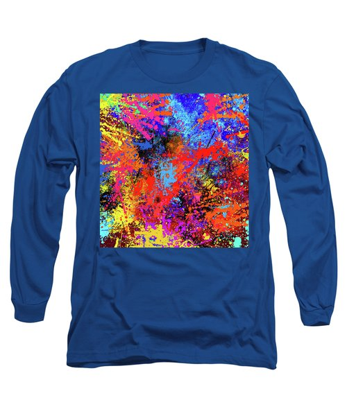 Abstract Composition Long Sleeve T-Shirt