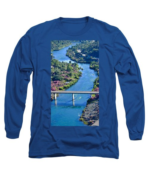 Shasta Dam Spillway Long Sleeve T-Shirt