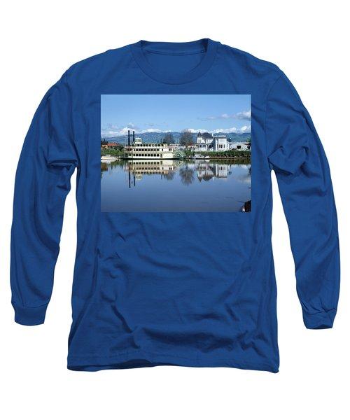 3b6380 Petaluma Queen Riverboat Long Sleeve T-Shirt