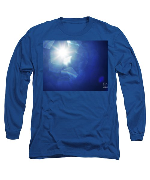 Long Sleeve T-Shirt featuring the photograph Abstract Sunlight by Atiketta Sangasaeng