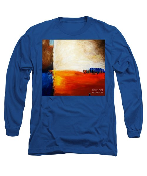 4 Corners Landscape Long Sleeve T-Shirt by Gallery Messina